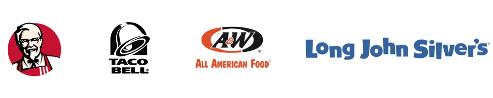 KFC, Taco Bell, A&W, Long John Silver's - Central California